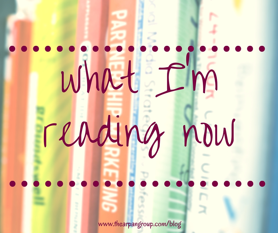 What I'm Reading Now: Fall 2015