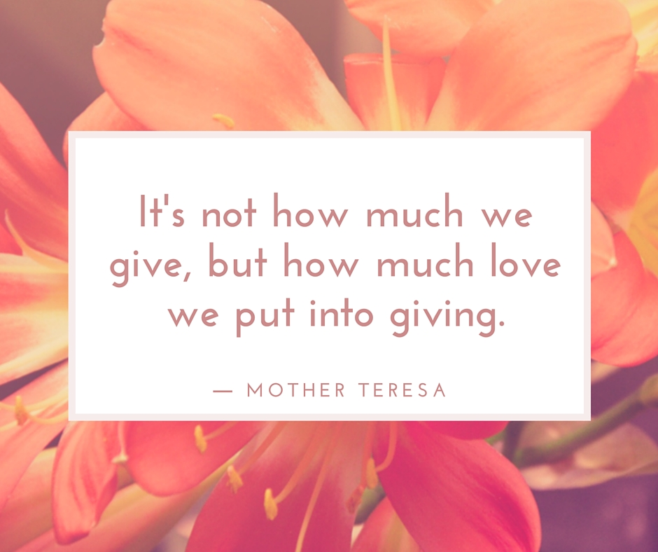 Mindful Charitable Giving
