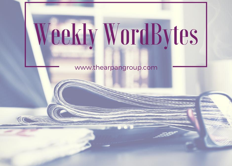 Weekly WordBytes: 3.10.17