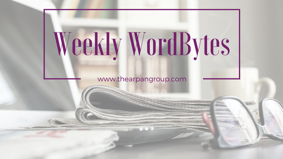 Weekly WordBytes: 4.7.17